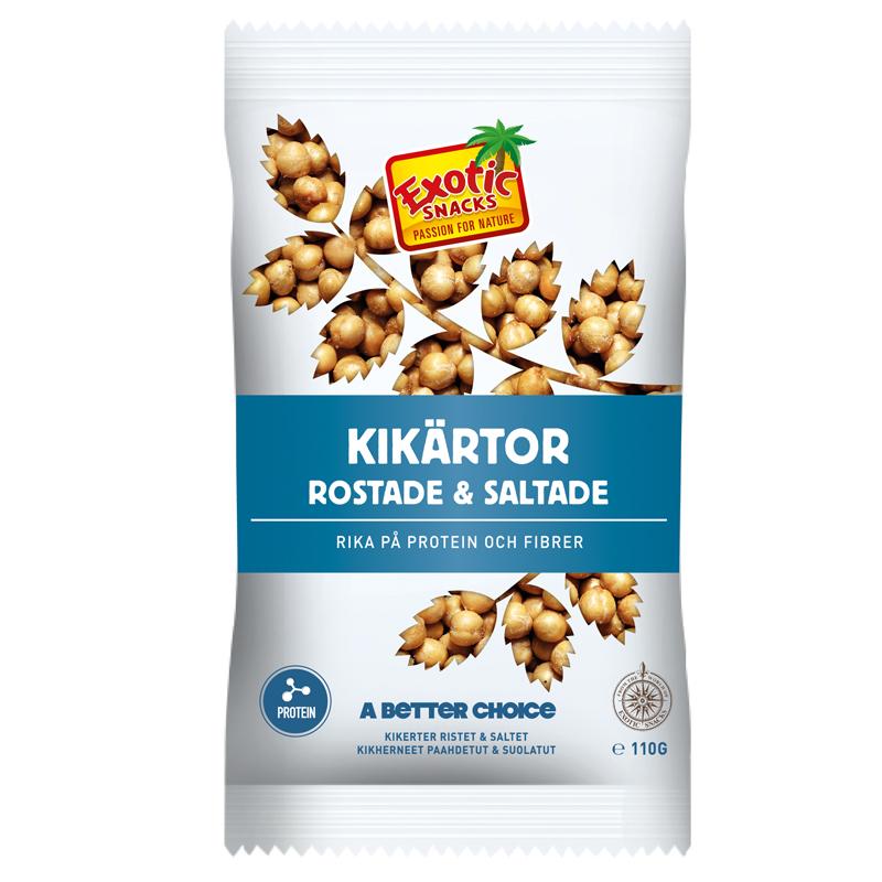 Kikärtor Rostade & Saltade - 33% rabatt
