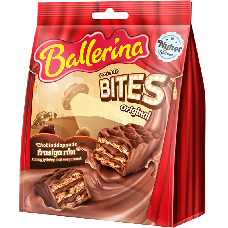 Ballerina Bites Vohvelit - 24% alennus