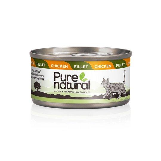 Purenatural Cat Fillet Chicken 70 g