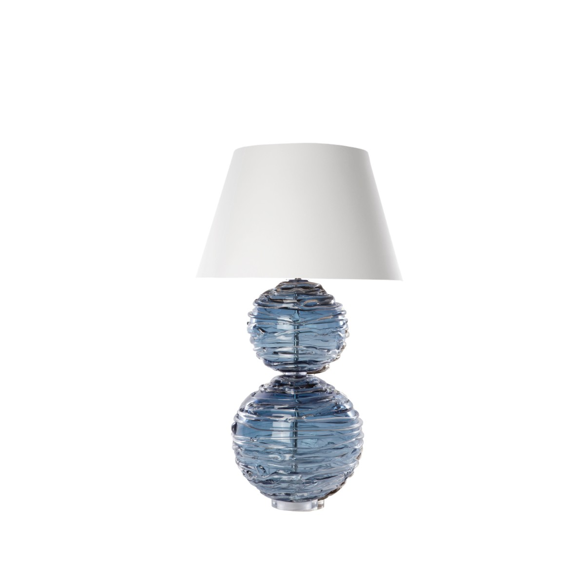 William Yeoward | Alfie Table Lamp Steel Blue