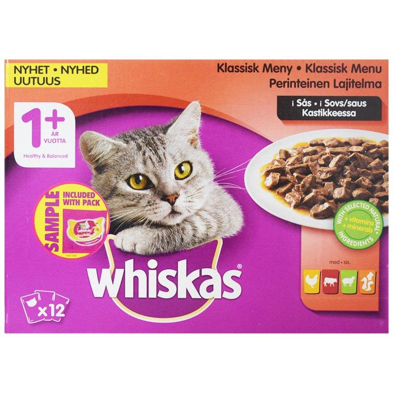 Kissanruoka Lihalajitelma - 24% alennus