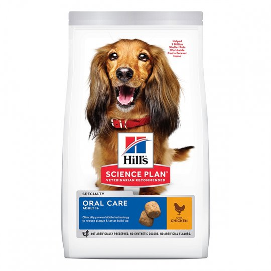 Hill's Science Plan Dog Adult Oral Care Chicken (2 kg)