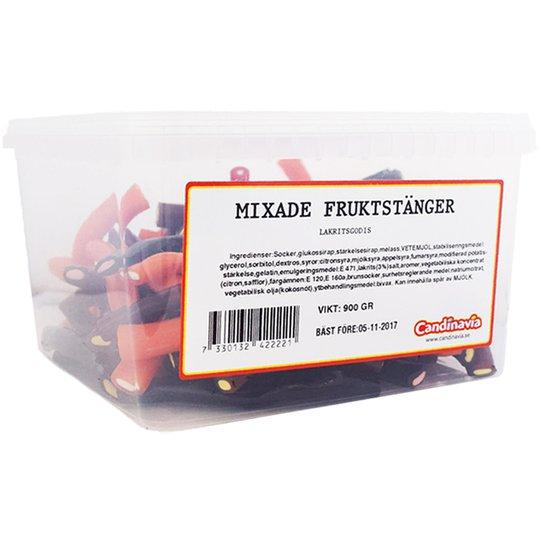 Hel Låda Mixade Fruktstänger 900g - 72% rabatt