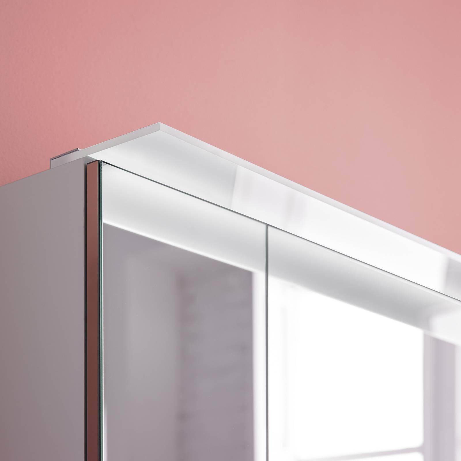 Pinta-asennettava LED-kalustevalaisin Adele L 80cm