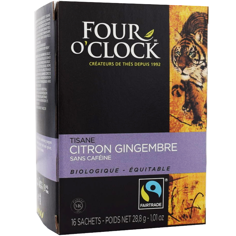 Citron Ingefära Te, Eko Fairtrade 16p - 38% rabatt
