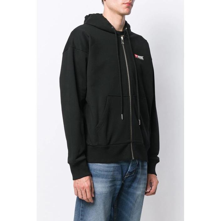 Diesel Men's Sweatshirt Black 294056 - black XS