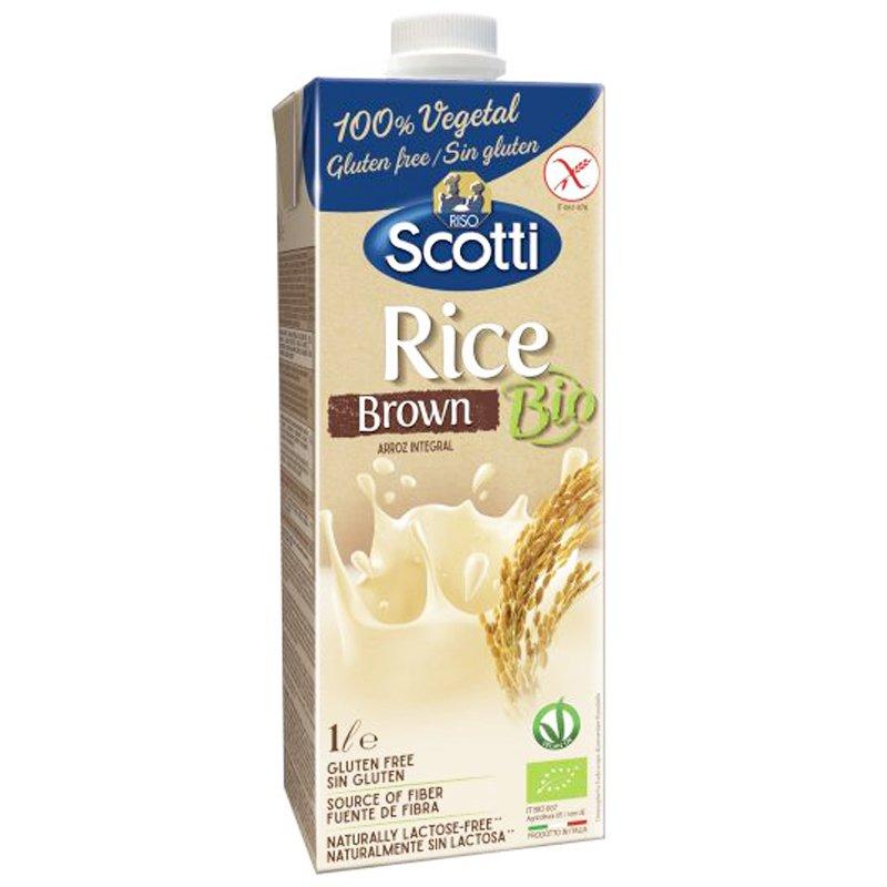 Luomu Riisijuoma Brown - 24% alennus