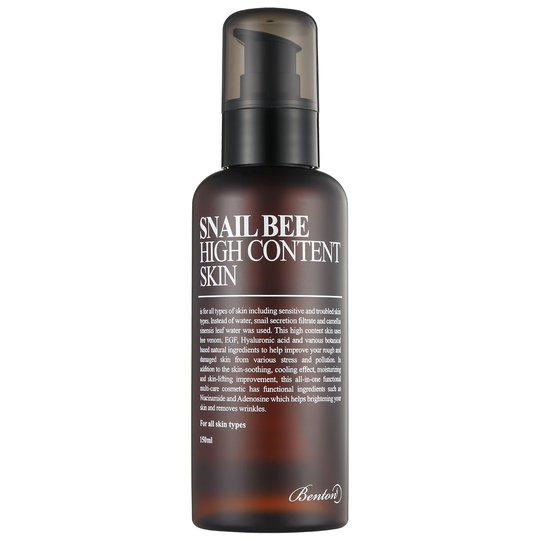 Snail Bee High Content Skin, 150 ml Benton K-Beauty