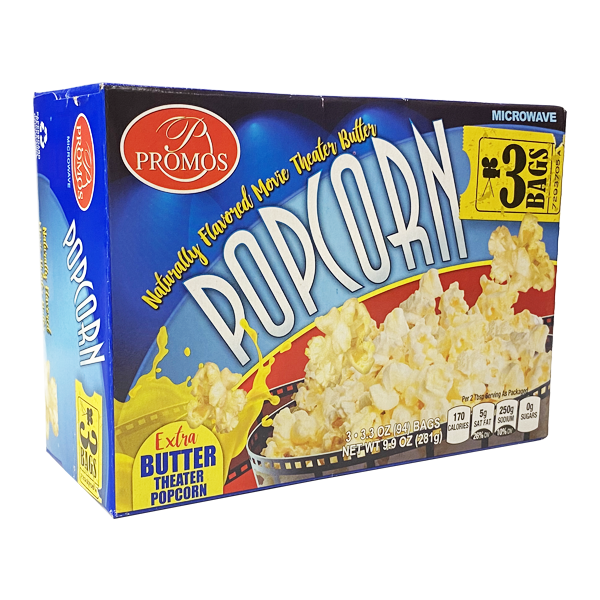 Popcorn Extra Butter Theater
