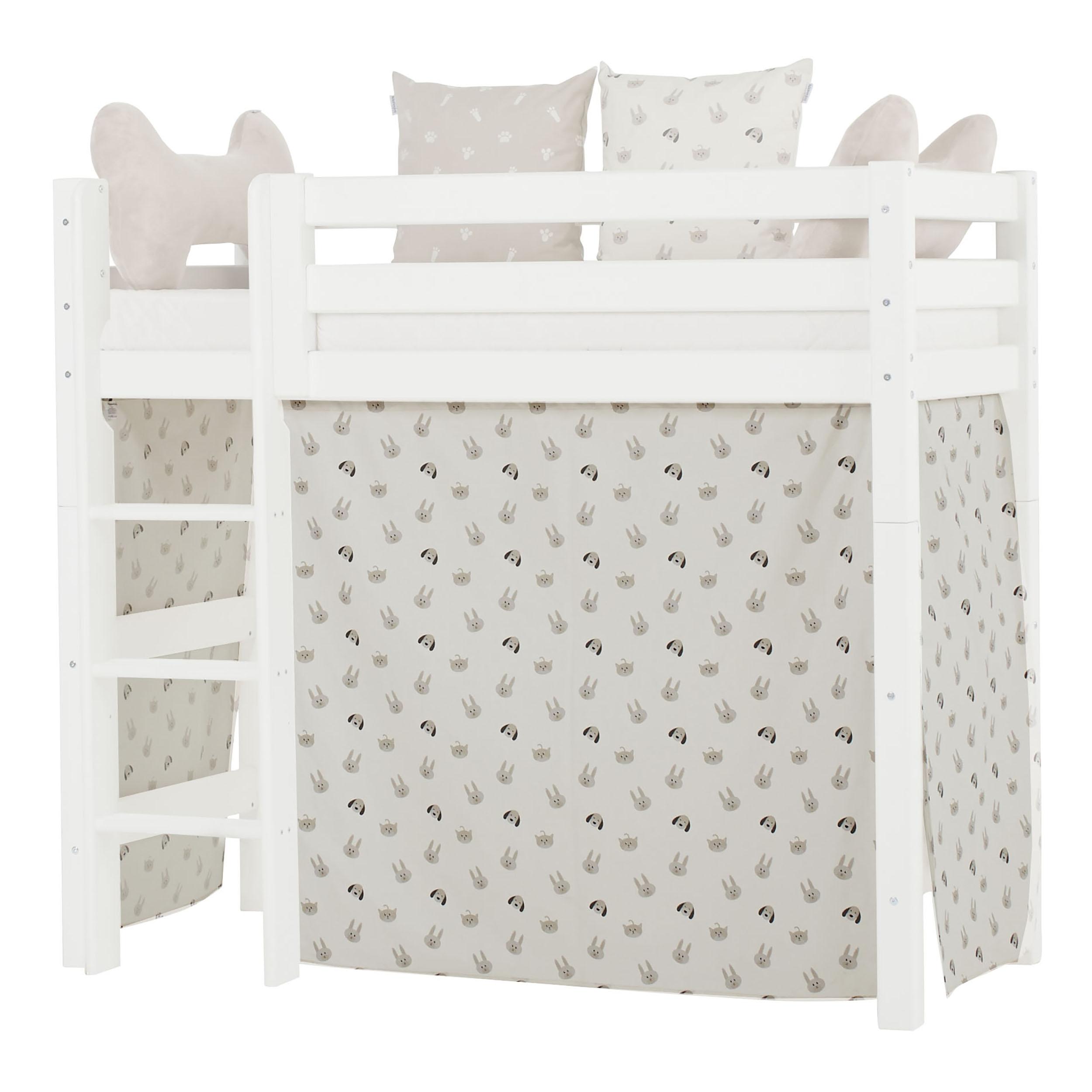 Hoppekids - Play Curtain Mid-High Bed 70x160 cm - Pets Pristine