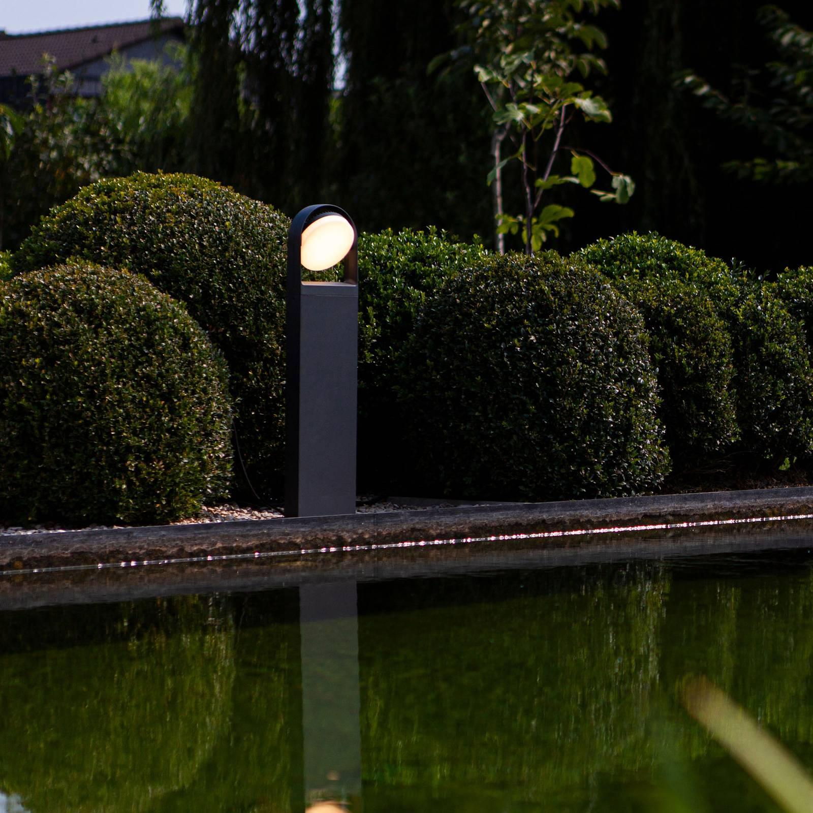 LED-pylväsvalaisin Fele, antrasiitti, käännettävä