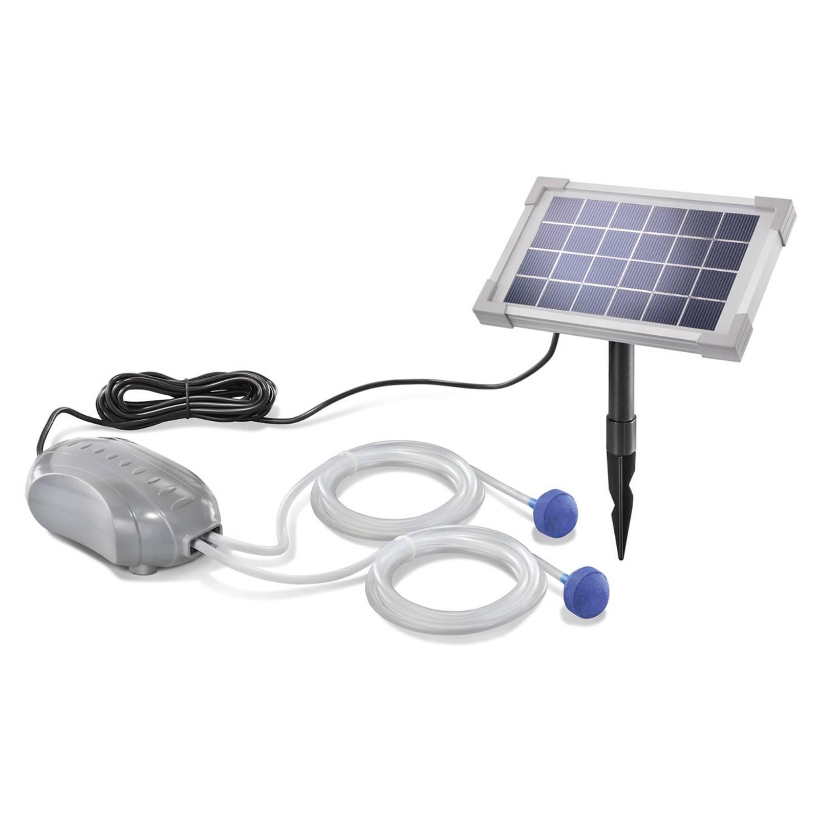 Duo Air – aurinkokäyttöinen lampi-ilmastin