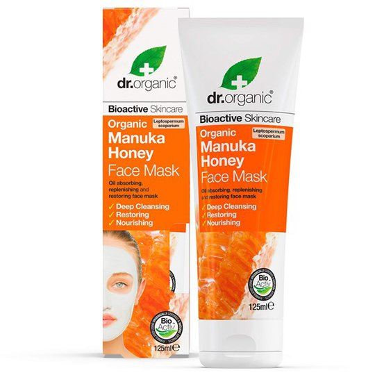 Dr. Organic Manuka Honey Face Mask, 125 ml