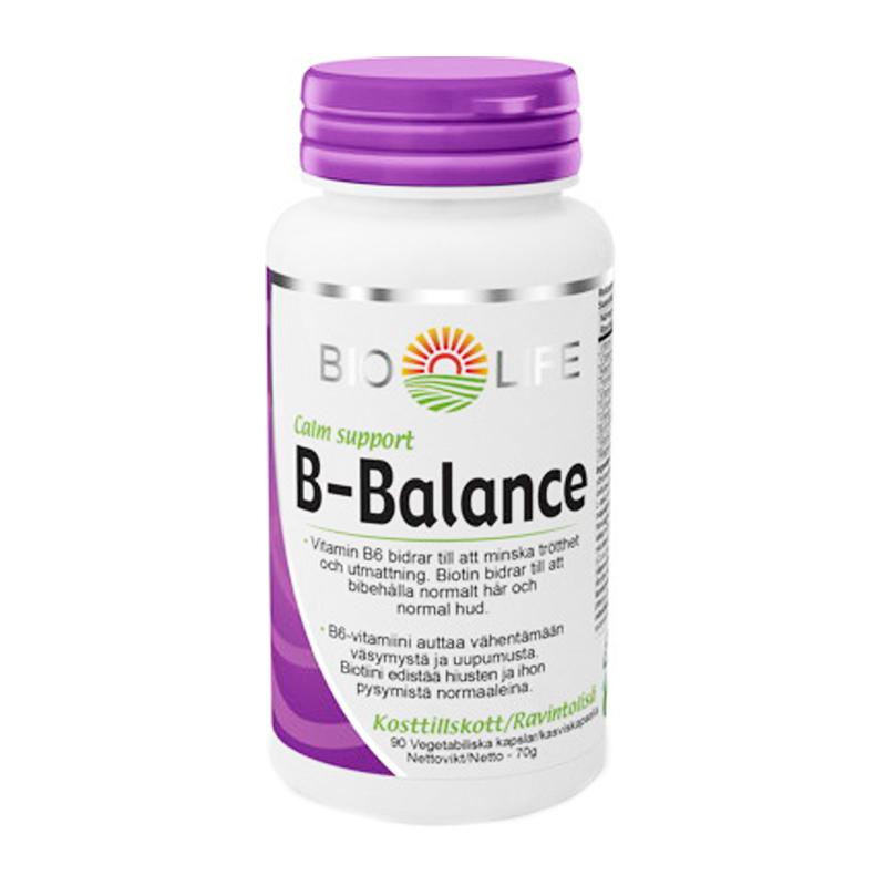 """Kosttillskott """"B-Balance"""" 90-pack - 38% rabatt"""