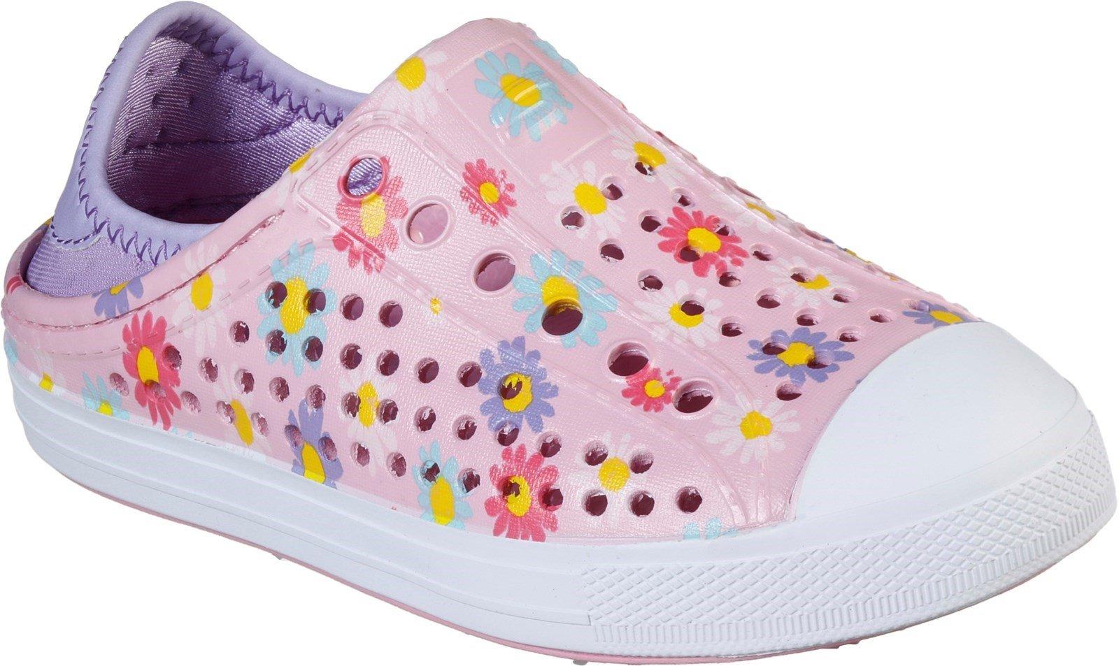 Skechers Unisex Guzman Steps Hello Daisy Slip On Sandal Pink 30780 - Pink 4