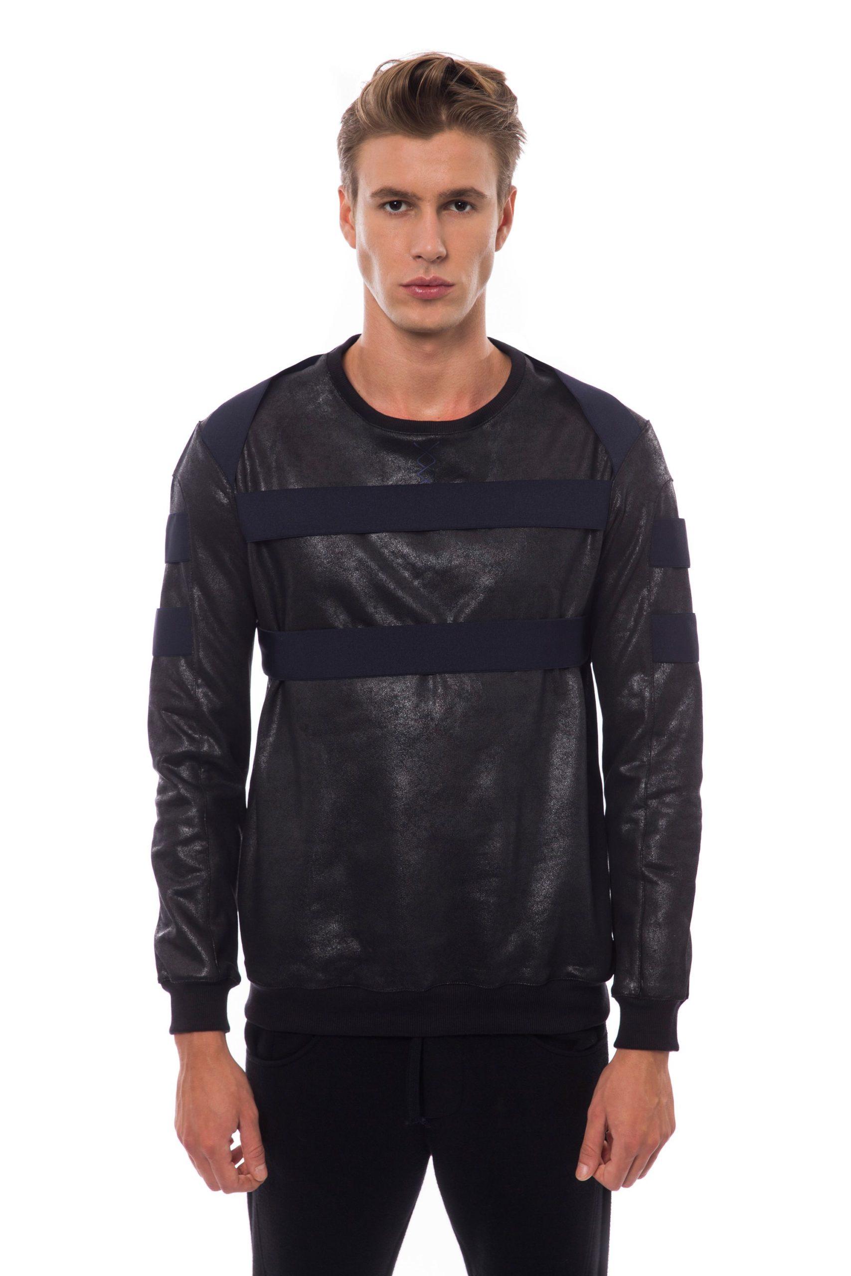 Nicolo Tonetto Men's Nero Sweater Black NI817123 - M