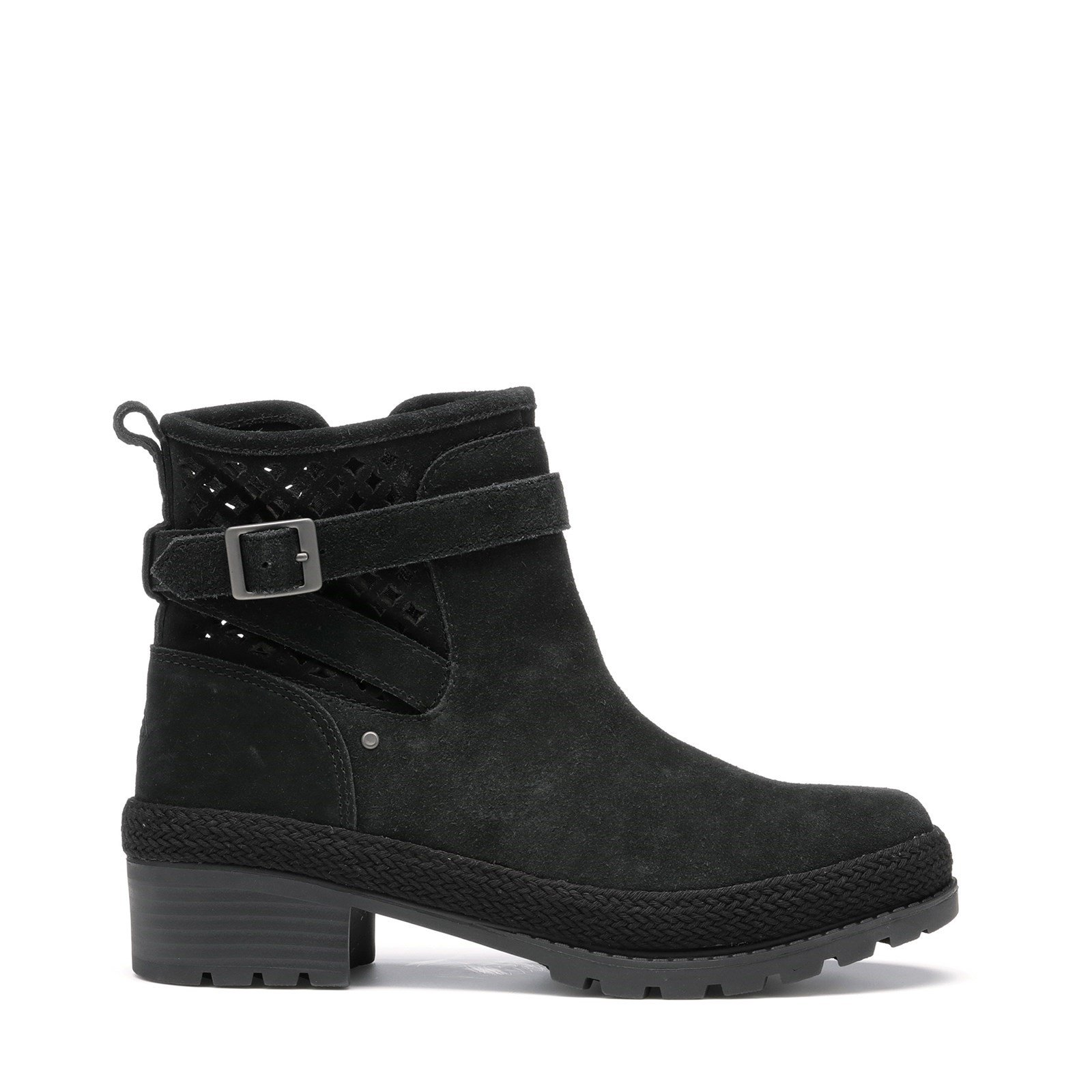 Muck Boots Women's Liberty Perforated Leather Boots Various Colours 31814 - Black 5.5