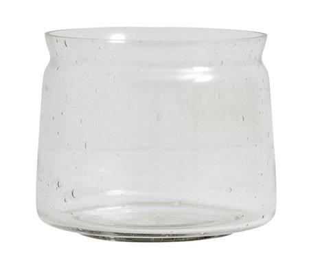 Bubbly Vase Klar Large