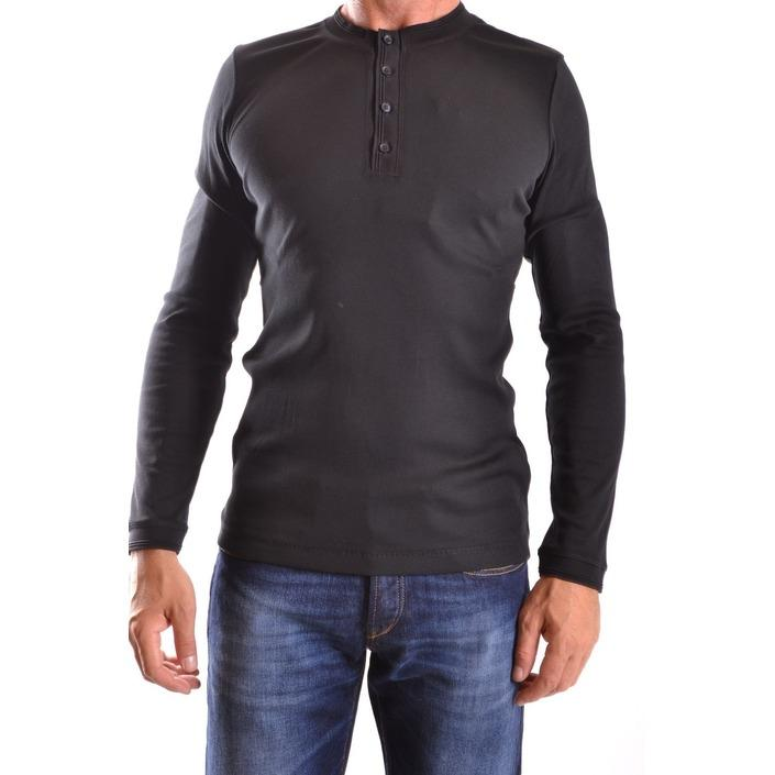 Dondup Men's T-Shirt Black 161294 - black S