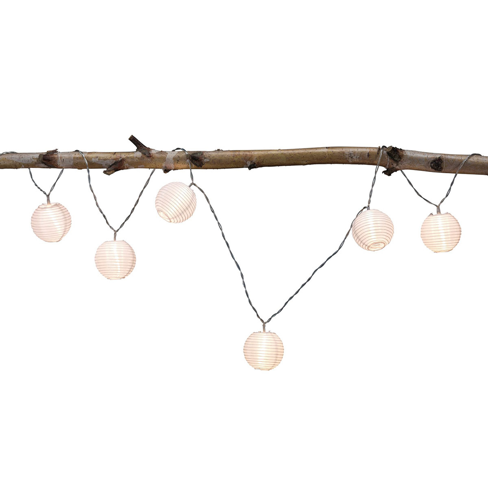 Paulmann Mobile Lampion -valoketju 7-lamppuinen