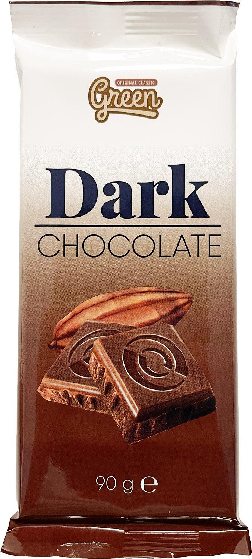 Green Mörk Choklad 90g