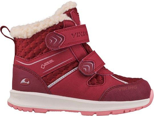 Viking Sophie GTX Vintersko, Dark Red/Pink 20