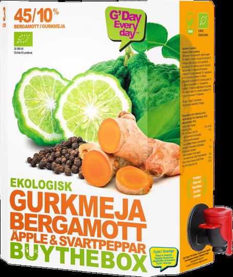 Ekologisk Gurkmeja Bergamott 3L - 38% rabatt