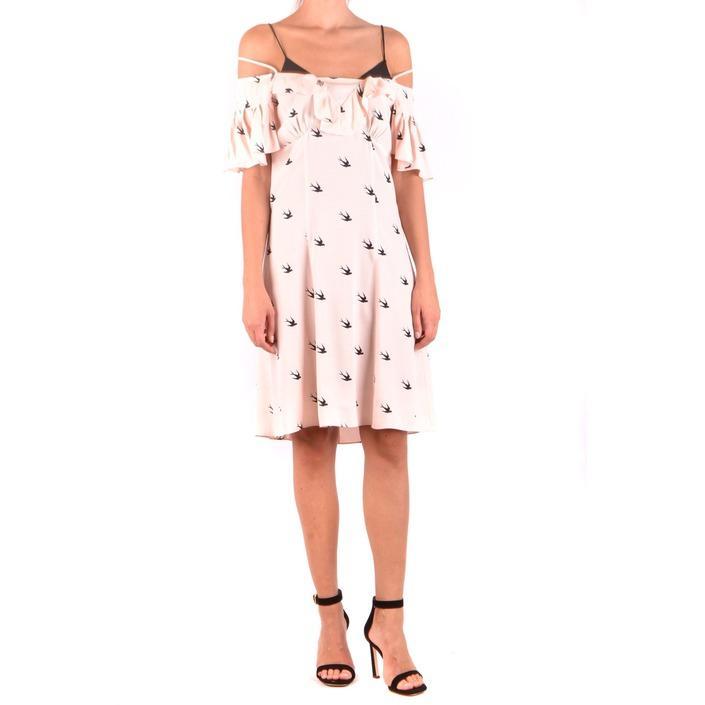 Alexander Mcqueen Women's Dress Pink 187060 - pink 38