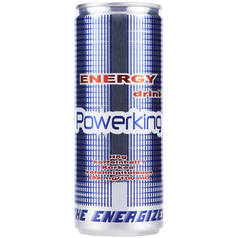 Powerking Energiajuoma 250ml - 21% alennus