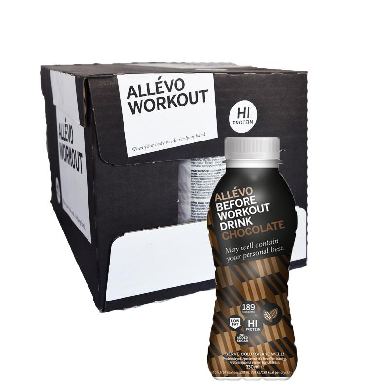 Hel Låda Proteindryck Choklad 12 x 300 ml - 63% rabatt