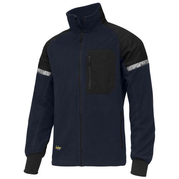 Snickers 8005 AllroundWork Jacka marinblå/svart, vindtät XS