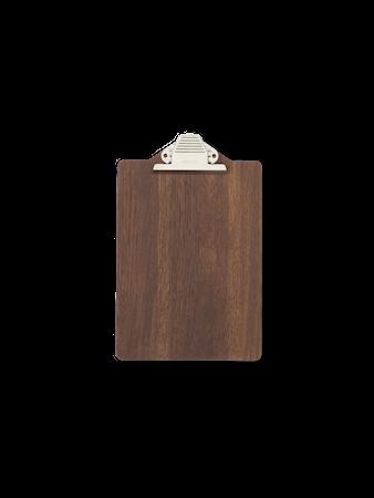 Clipboard - A4 - Smoked Oak