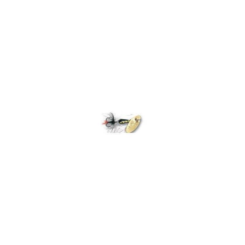 Sølvkroken Spesial Spinner 9g GO/BL/F Kjøp 8 spinnere få en gratis slukboks