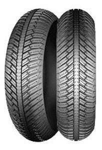 Michelin City Grip Winter ( 140/60-14 RF TL 64S takapyörä, M+S-merkintä, M/C )