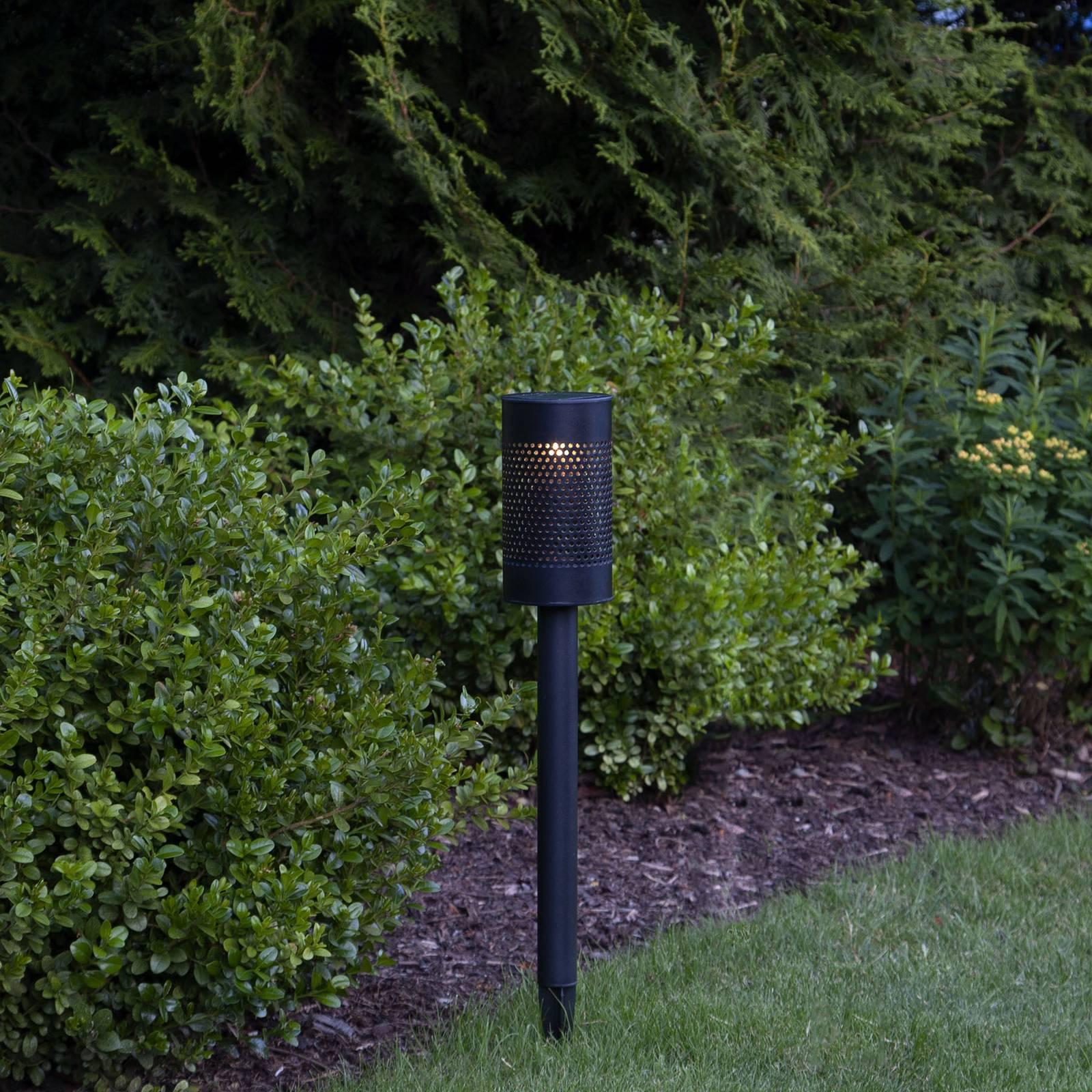 Aurinkokäyttöinen Blace-LED-valaisin, 46 cm