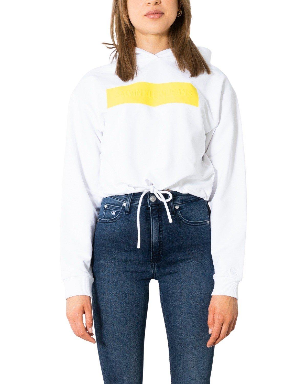 Calvin Klein Jeans Women Sweatshirt Various Colours 299494 - white XS