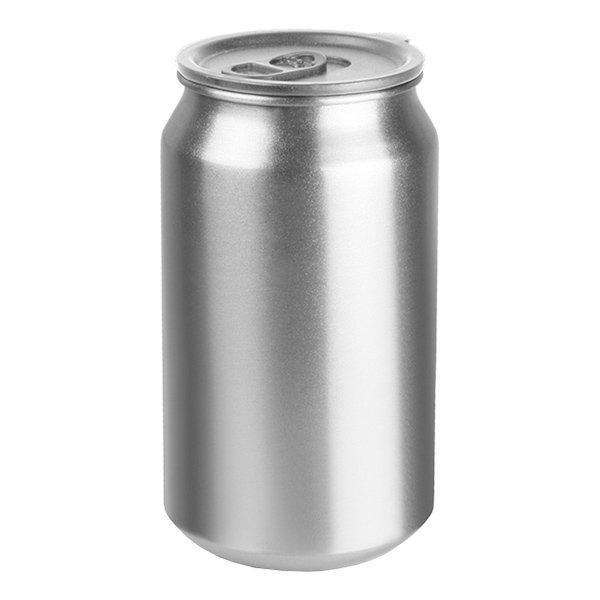 Aluminiumburkar med Lock - 4-pack