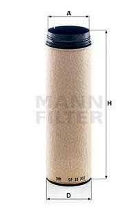 Toisioilmasuodatin MANN-FILTER CF 16 002