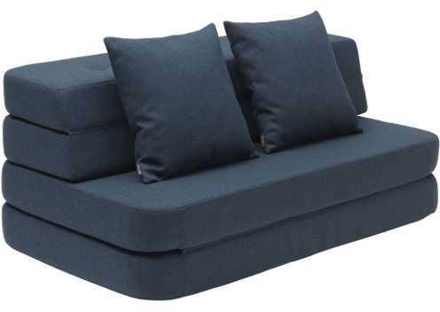by KlipKlap 3-in-1 Sohva XL, Dark Blue