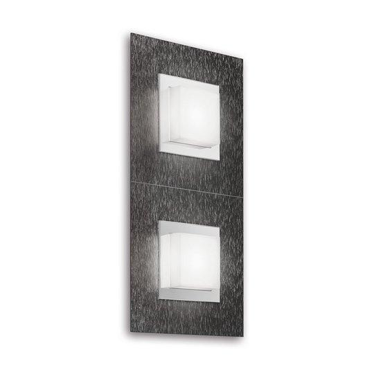 GROSSMANN Basic LED-valaisin 2-lampp., antrasiitti