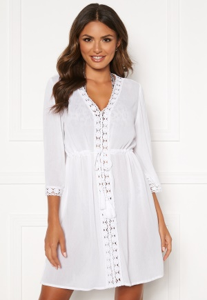 Happy Holly Sienna beach tunic White 40/42S