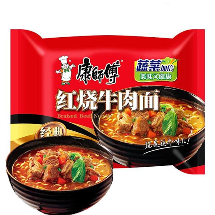 Kang Shi Fu Instant Noodles Braised Beef Flavor 144g