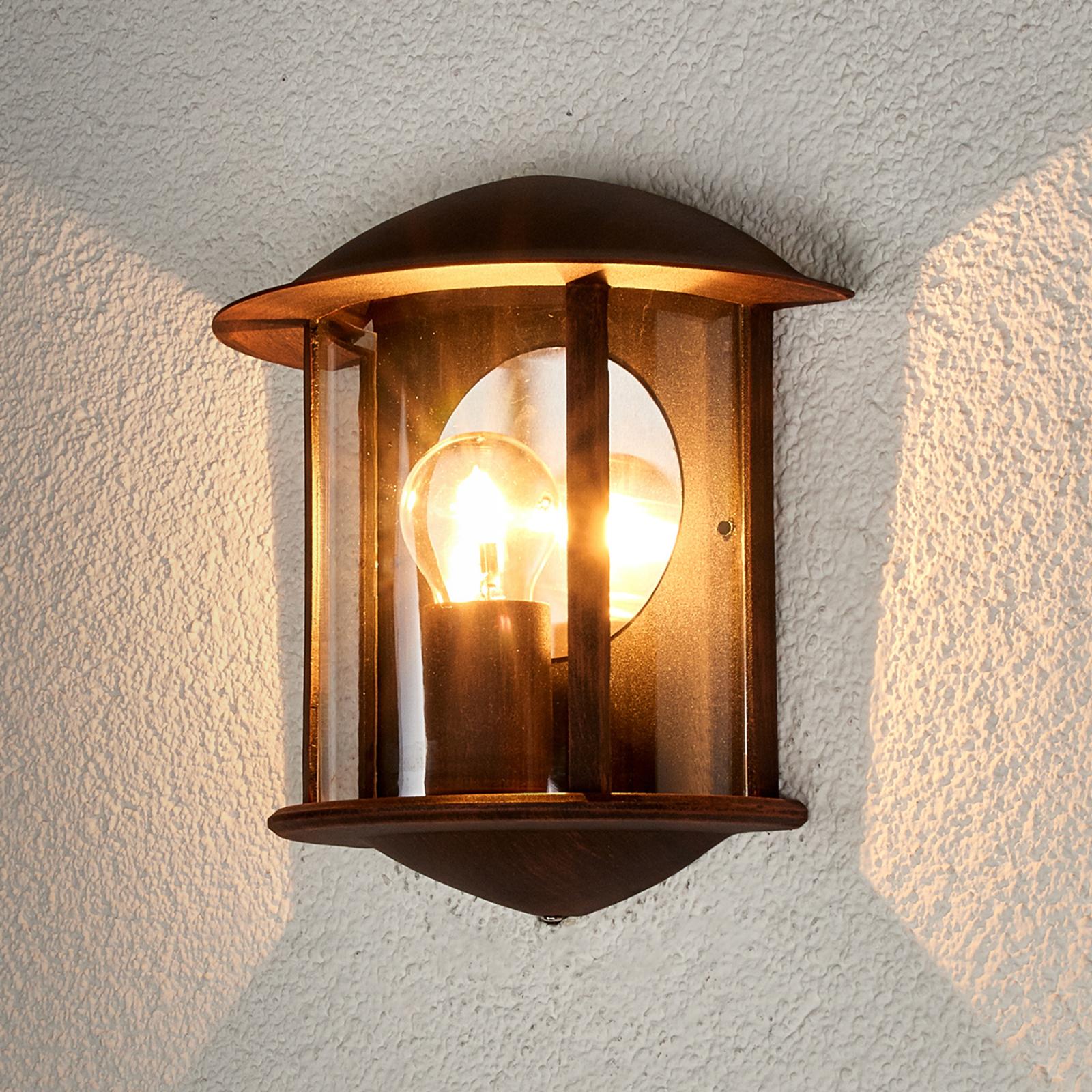 Ruosteenruskea LED-ulkoseinävalaisin Maelis