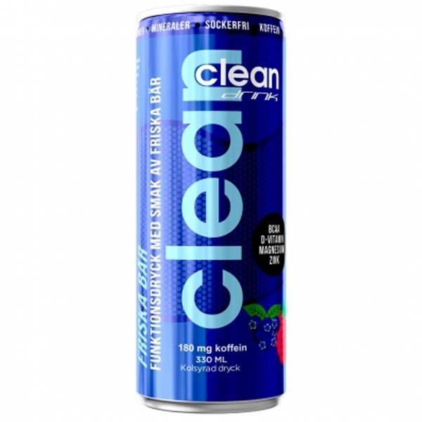 Clean Drink Friska bär 33 cl