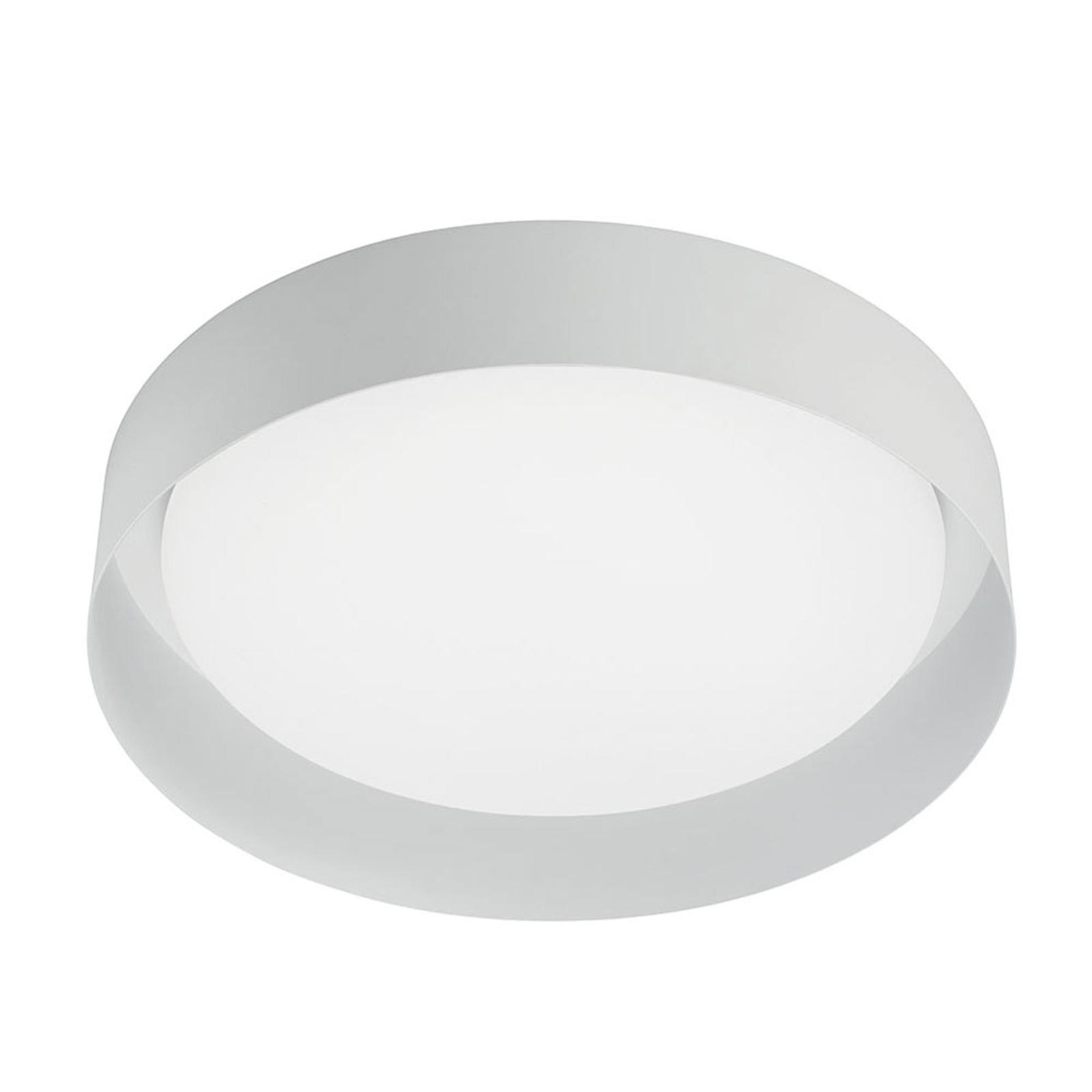 LED-kattovalaisin Crew 2, Ø 26 cm, valkoinen