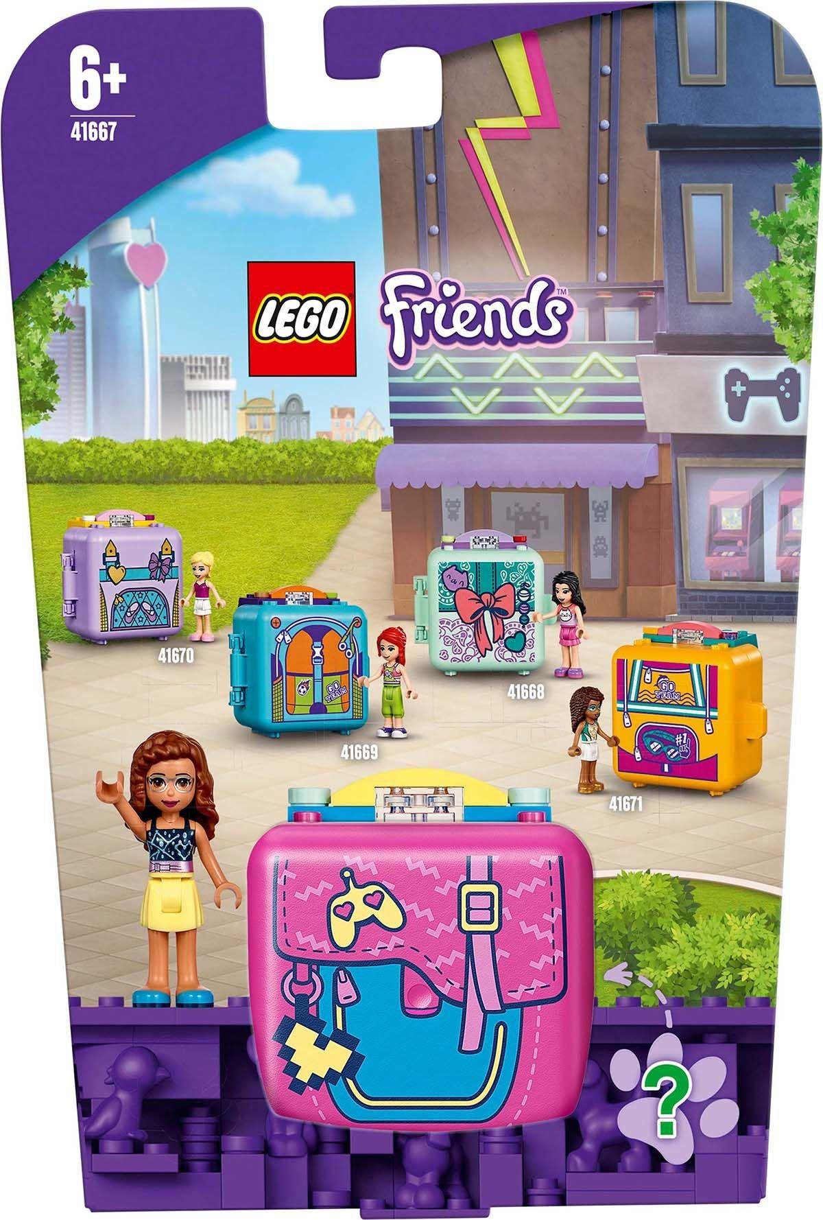 LEGO Friends 41667 Olivian Pelikuutio