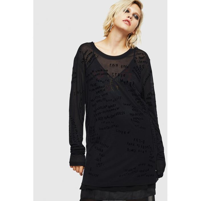 Diesel Women's Sweatshirt Black 294112 - black S