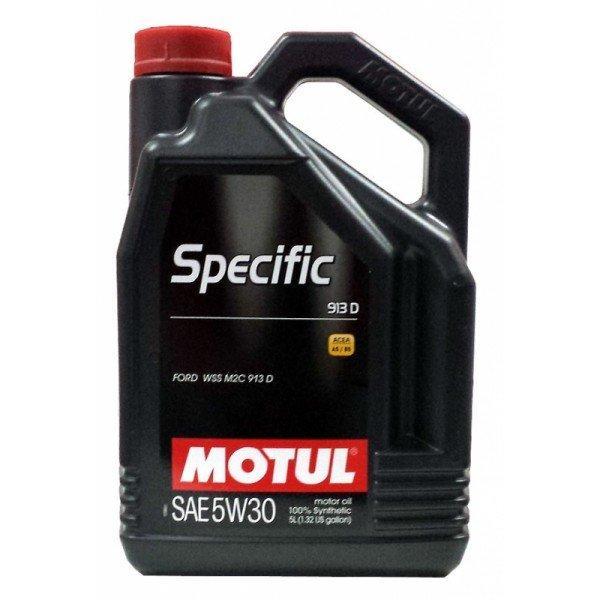 Moottoriöljy MOTUL SPECIFIC FORD913D 5W30 5L