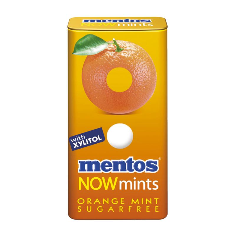 "Pastiller ""Orange Mint"" 18g - 44% rabatt"