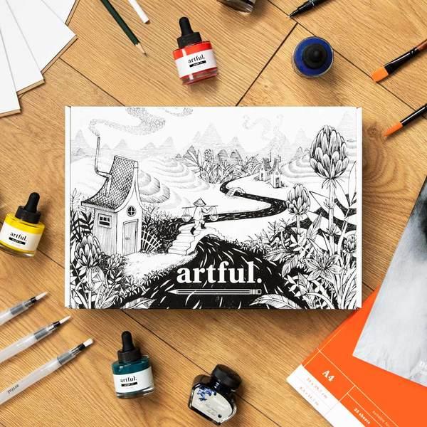 The Artful Ink Starter Box